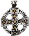 Runic Celtic Cross Pendant