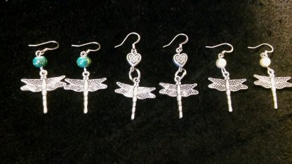 Beaded Dragonfly Earrings