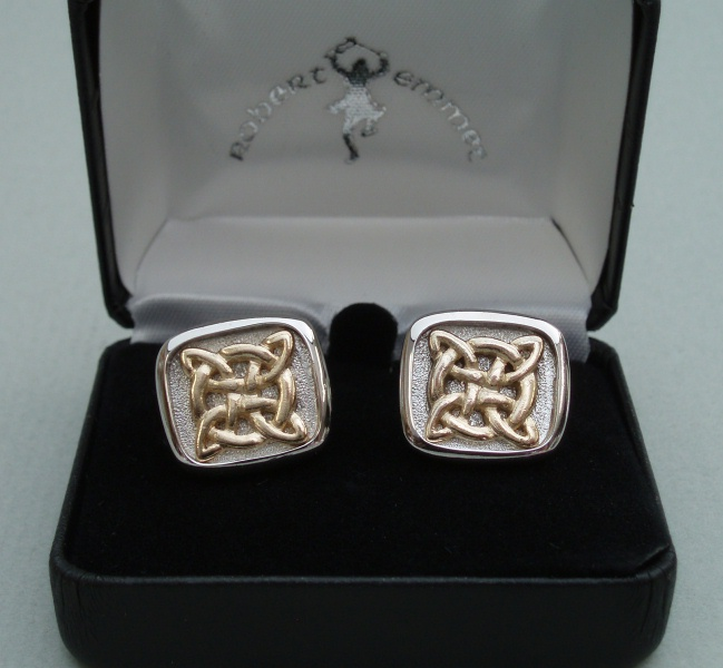 Knotwork Cuff Links