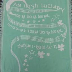 Irish Lullaby Blanket