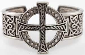 Celtic Cross Bracelet