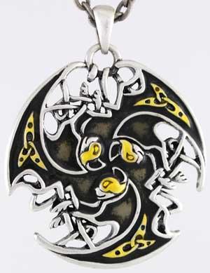 Celtic Lion Pendant