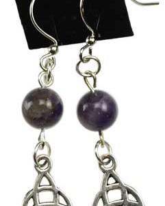 Trinity Beaded Earrings
