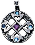Celtic Heart Cross Pendant