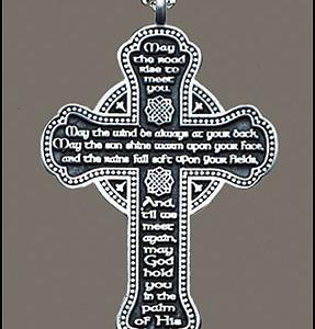 celtic cross car chime