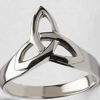 Stainless Trinity Ring