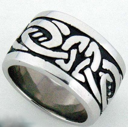 Man's Knotwork Ring