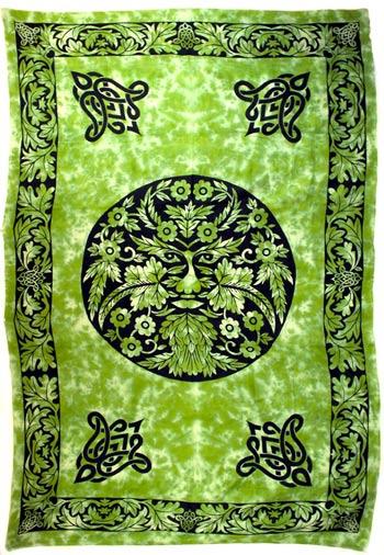 Greenman tapestry