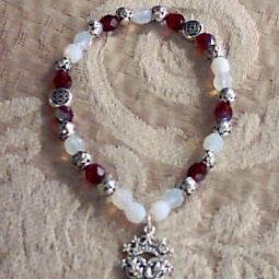 Thistle Beaded Bracelet