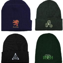 Celtic Knit Caps