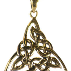 bronze triquetra pendant