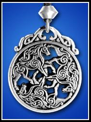 Epona Horse Pendant