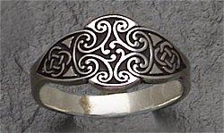 celtic goddess ring