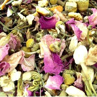 faerie garden bath tea