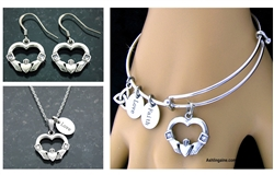 Claddagh Heart Set