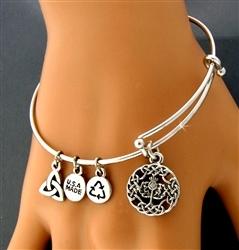 Thistle Charm Bracelet