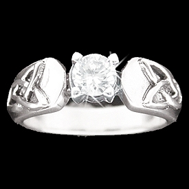 Trinity CZ Ring
