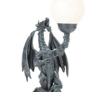 Dragon Globe Table Lamp