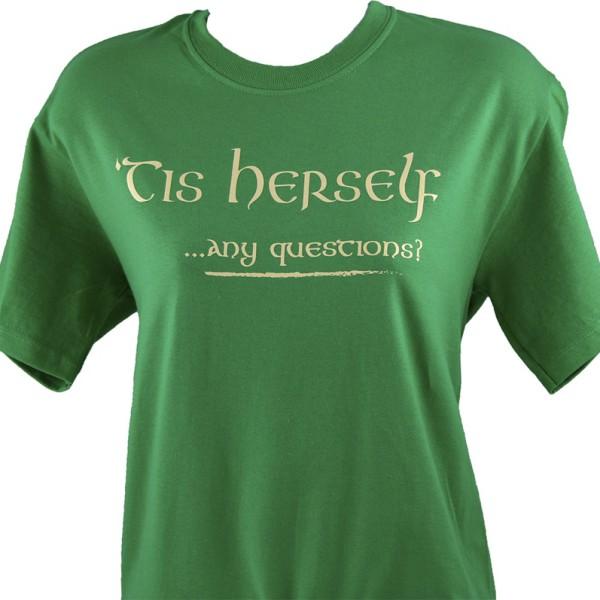 Tis Herself tee shirt