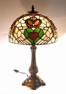 Claddagh tiffany lamp