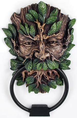 Greenman doorknocker