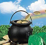 Irish Pot of gold candy