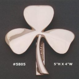 Solid Shamrock Doorknocker