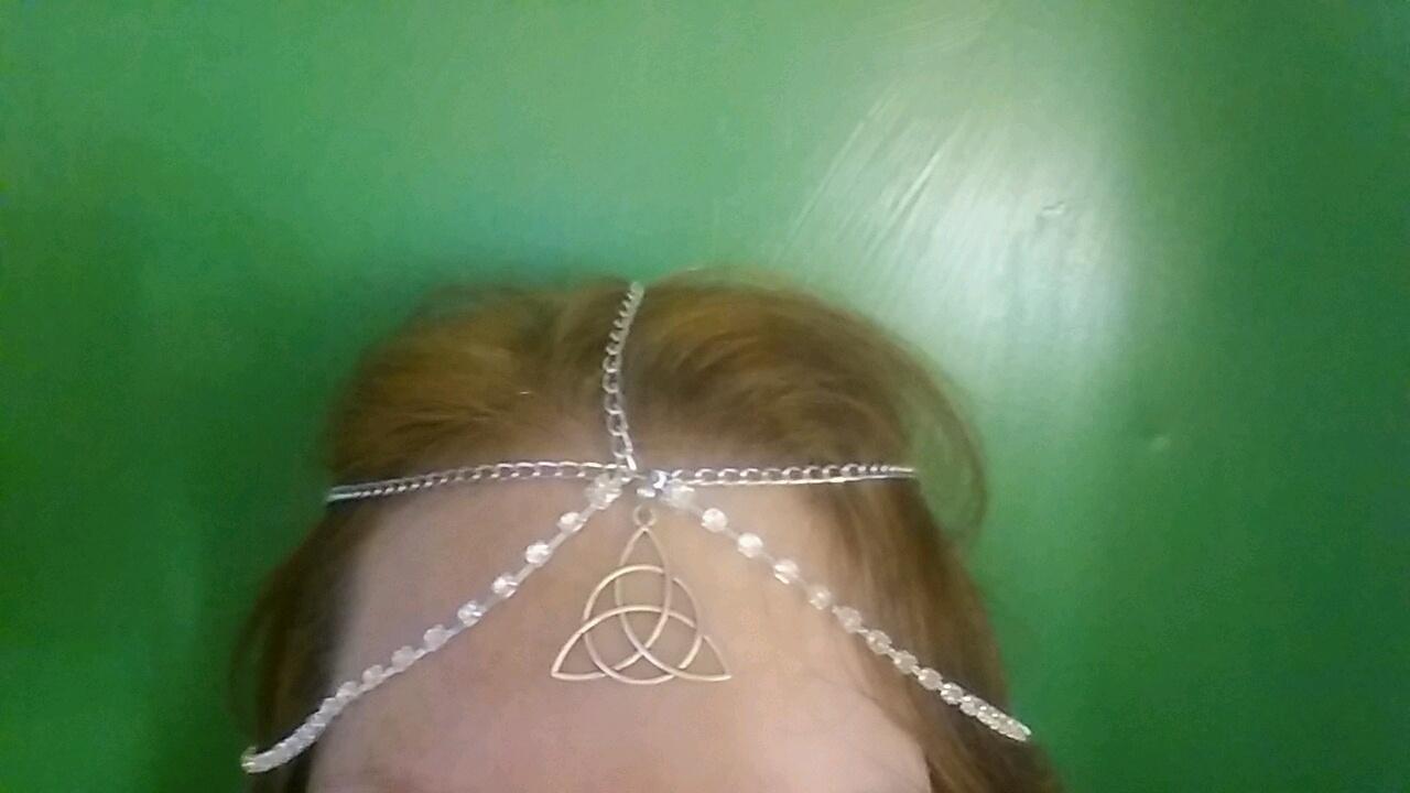 Triquetra Chain Headpiece