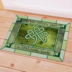 celtic knot mat