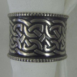 Celtic Knot Napkin Rings