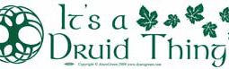 Druiid Thing Bumpersticker