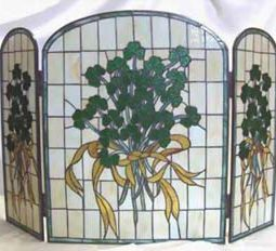 Shamrock Fireplace Screen