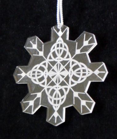 Trinity Snowflake Ornament