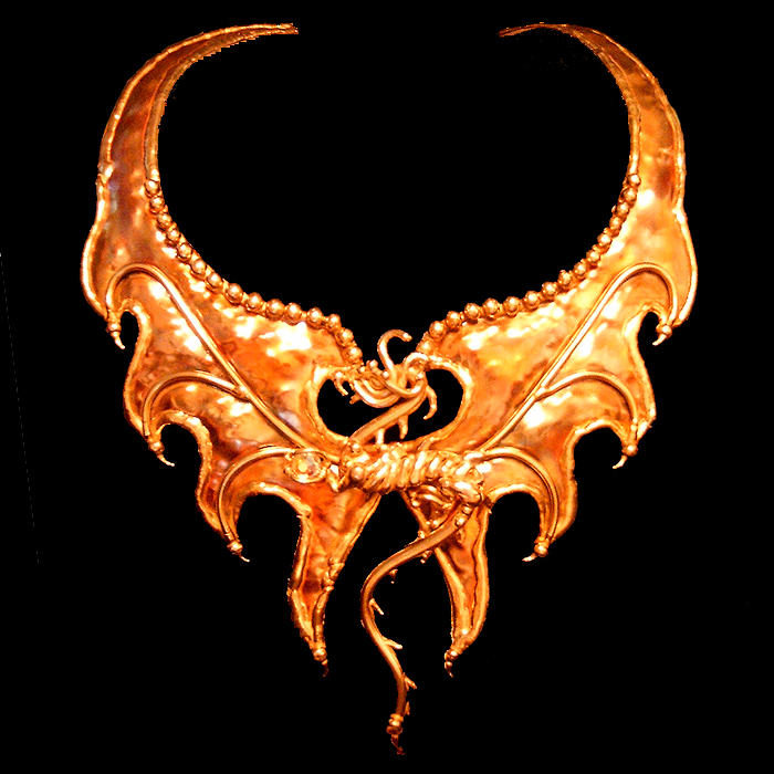 Bronze Dragon Choker