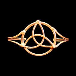 bronze trinity bracelet