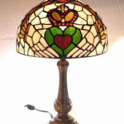 claddagh tiffany lamp