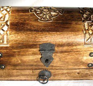 Celtic cross treasure box