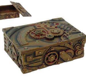 Steampunk dragon box