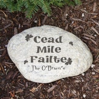 failte personalized stone