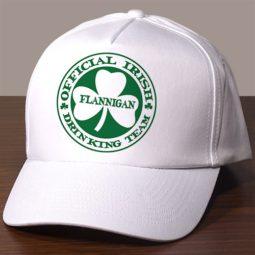 irish personalized hat