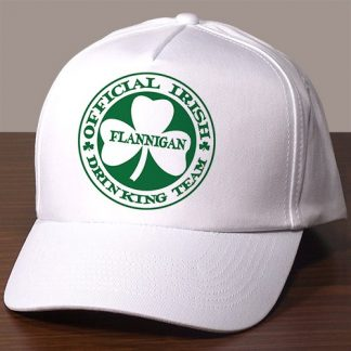 irish personalized hat