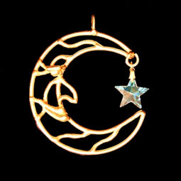 bronze moon suncatcher