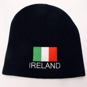 ireland flag beanie