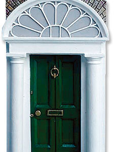 irish door ornament
