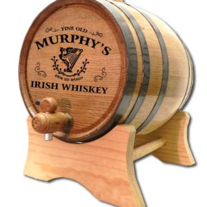 personalized whiskey barrel