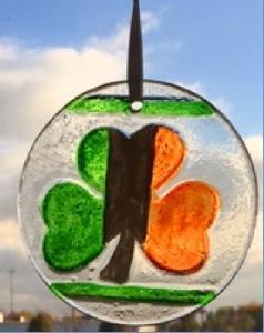 shamrock flag ornament