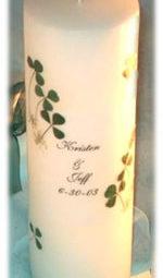 shamrock unity candle