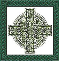 thistle cross tile
