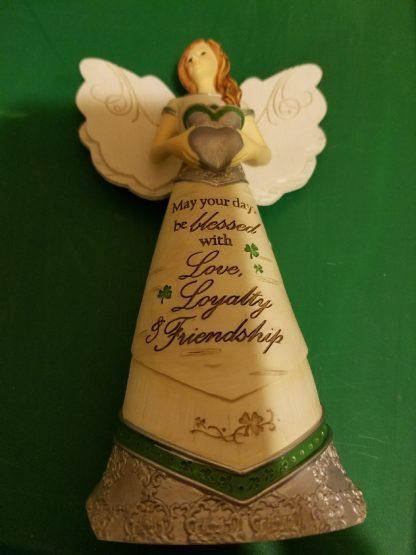 irish angel figurine