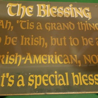 irish blessing plaque